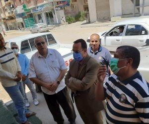 محافظ شمال سيناء يتابع مشروع تطوير العريش .. ويؤكد على توفير مستلزمات عيد الأضحى بالأسواق ( صور)
