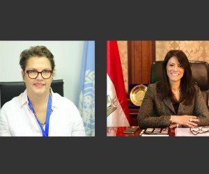 وزيرة التعاون الدولي تبحث تنفيذ الإطار الاستراتيجي للشراكة مع الأمم المتحدة