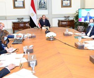 السيسى يؤكد رغبة مصر الصادقة لتحقيق تقدم على صعيد القضايا الخلافية لسد النهضة