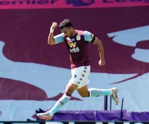 أستون فيلا ضد أرسنال.. تريزيجيه يسجل أول أهداف اللقاء وخروج المحمدي للإصابة