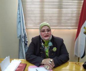 بثينة كشك: خفض نسبة القبول بالثانوية العامة بكفر الشيخ إلى 245 درجة
