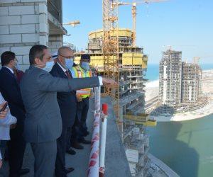 وزير الإسكان: بدء تنفيذ 5 أبراج جديدة في العلمين.. والمدينة ستكون مقصدًا للسياحة المحلية والعالمية