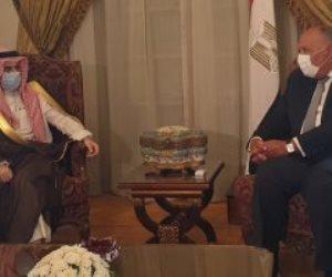 وزير الخارجية: مصر لن تسمح بتجاوز «الخطوط الحمراء» في ليبيا
