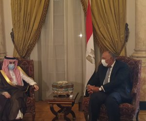 شكري لنظيره السعودي: تنسيق بين القاهرة والرياض لمواجهة التحديات المشتركة
