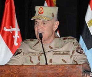 الفريق محمد فريد رئيس أركان حرب القوات المسلحة يغادر إلى السودان