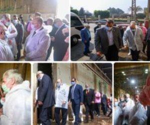 المجازر تفتح أبوابها للمضحيين.. 4 عنابر مخصصة بمجزر البساتين و10 آلاف جنيه غرامة الذبح في الشارع