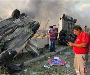 """والد """"المصري"""" ضحية انفجار بيروت: ابني راح مني في غمضة عين ولا أصدق ما حدث"""