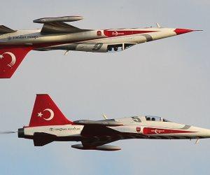 بـ8 طائرات حربية.. تركيا تنتهك المجال الجوي اليوناني 33 مرة