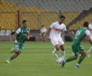 الزمالك يفوز على المصري بهدف محمود علاء ويصعد لثاني الدوري