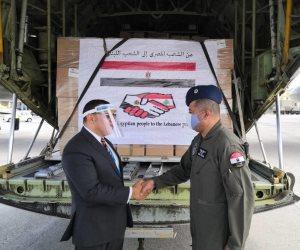 الرئيس السيسى يوجه بفتح جسر جوي لإرسال مساعدات عاجلة للبنان