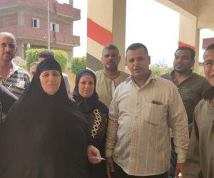 توافد الناخبين على لجان مركز زفتى.. واحتفال وزغاريد بلجنة مدرسة عزبة مشرف الجديدة