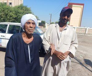 كفيف مسن بالشرقية: أحث أقاربي على الخروج و«تحيا مصر» (صور)