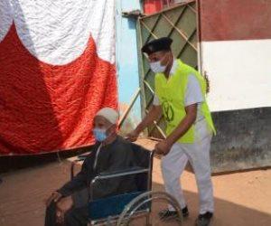 الداخلية تؤدي دورها الوطني في تأمين انتخابات الشيوخ ومساعدة المرضى وكبار السن (فيديو)