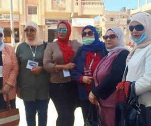 شكلت حضورا لافتا.. المرأة السيناوية أيقونة انتخابات الشيوخ بشمال سيناء (صور)