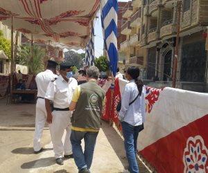 انتخابات مجلس الشيوخ.. مراقبون دوليون يتفقدون 5 لجان في الإسماعيلية (صور)