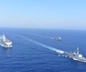 صور.. مناورات عسكرية بين فرنسا واليونان لمواجهة الأطماع التركية فى المتوسط