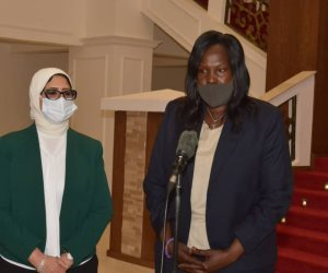 وزيرة الصحة من جنوب السودان: المركز الطبي بجوبا تكليلاً للجهود المصرية وتوجيهات الرئيس السيسي بدعم الأشقاء