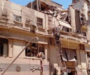 محافظة القاهرة: عقار قصر النيل المنهار مسجل طراز معمارى وصدر له قرارى تنكيس