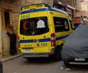 انهيار عقارين بالإسكندرية والحماية المدنية تبحث عن سيدة تحت الأنقاض