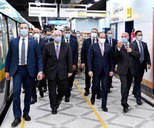 الرئيس السيسي يحصل على اشتراك مترو مدى الحياة.. اعرف التفاصيل