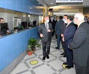 السيسي خلال افتتاح محطة عدلي منصور: الدولة حريصة على تحسين حياة الناس (فيديو)