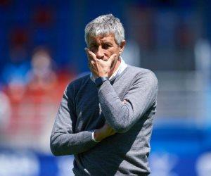 رسميًا.. برشلونة يعلن إقالة كيكى سيتين من تدريب الفريق