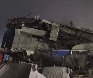 غرق عائمة نيلية شهيرة فى النيل بمنطقة الدقى دون إصابات