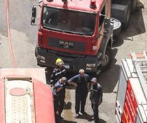 مصرع أسرة من 5 أشخاص إثر حريق شقة سكنية بدار السلام