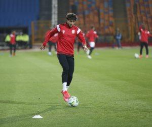 محمد هاني يعود لتشكيل الأهلي الاساسي في مباراة الزمالك اليوم