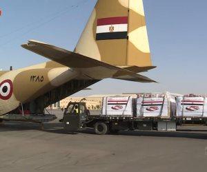 مصر ترسل مساعدات طبية للأشقاء في تونس بتوجيهات من الرئيس السيسي