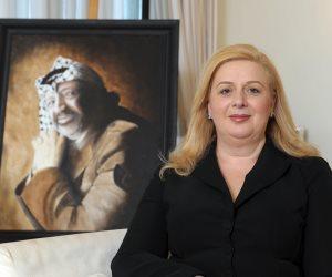 أرملة ياسر عرفات توجه التحية للرئيس السيسي لموقفه الشجاع من القضية الفلسطينية