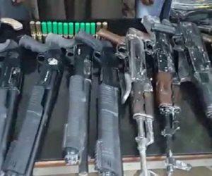 القبض على سيدة تدير محلا وورشة لبيع وتصنيع الأسلحة النارية بالمنوفية