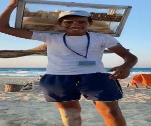قصة كفاح وبطولة.. الطالب إبراهيم حصل على 99.6% في الثانوية ونزل يبيع الفريسكا بالاسكندرية ليساعد والده