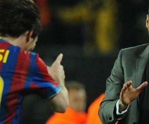 """عن الرحيل من برشلونة.. """"أريد الفوز بالكرة الذهبية"""": هذه كواليس مكالمة ميسي لجوارديولا"""