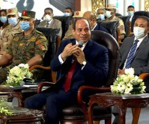 """السيسي للمسؤولين: """"اللى مش هيقدر يحقق الانضباط يقولى سلام عليكم أنا مش قده"""""""