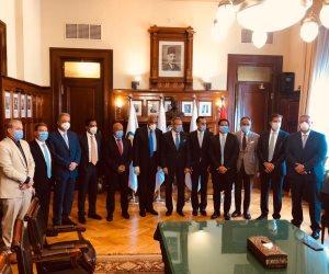 عقد شراكة استراتيجية بين البنك الاهلي المصري وبنك مصر ومجموعة طلعت مصطفى لمواجهة تحديات ازمة كورونا