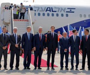 طائرة السلام .. وصول أول رحلة جوية إسرائيلية لأبوظبي لإجراء مباحثات ثنائية بين البلدين