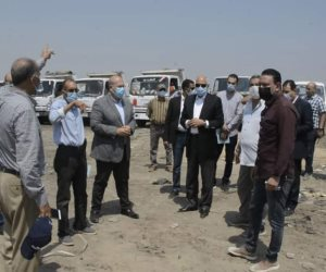 محافظ الجيزة عن العمال المخالفين بمقلب قمامة أبو رواش: «سلموهم للشرطة»