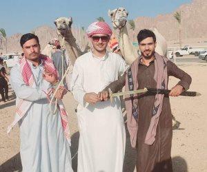 عودة الحياة لمضمار شرم الشيخ للهجن.. انطلاق السباق التنشيطي الأول بـ 22 شوطاً ولـ 3 أيام (صور)