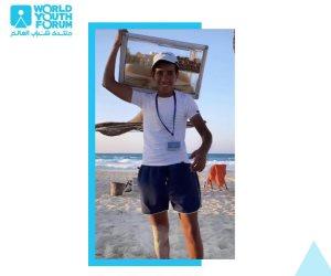 """الرئيس السيسى يستجيب لوالد بائع الفريسكا ويدعو """"إبراهيم عبد الناصر"""" لحضور الدورة القادمة من منتدى شباب العالم"""