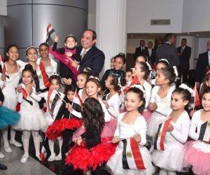 جابر الخواطر.. أطفال مصر في عيون الرئيس السيسي (فيديو)