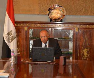 نص كلمة وزير الخارجية أمام جامعة الدول العربية: سياسة موحدة لردع تركيا