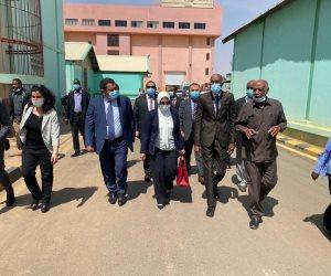 نقلت تضامن السيسى مع السودان.. رسائل زيارة وزيرة الصحة للخرطوم