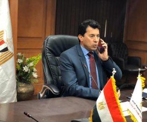 وزير الشباب والرياضة: نتواصل مع وزارتي الطيران والخارجية لحل أزمة بعثة الزمالك