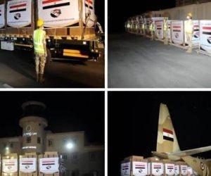 مصر تواصل الجسر الجوى للمساعدات للأشقاء السودانيين
