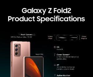 سامسونج تطلق هاتف Galaxy Z Fold2 بتصميم جديد يعيد تشكيل ملامح مستقبل الأجهزة الذكية