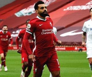 محمد صلاح أفضل لاعب فى مباراة ليفربول ضد ليدز بالدوري الإنجليزي
