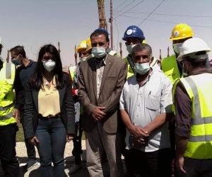 تفاصيل زيارة وزيرة التعاون الدولي للتجمعات التنموية بمدينه نخل بوسط سيناء (صور)