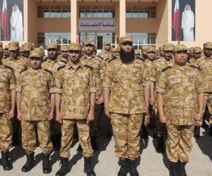 على واحدة ونص.. فيديو يرصد التدريبات العسكرية للجيش القطري