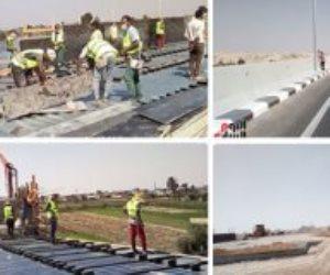 حكاية أمل.. محور سمالوط يبنى بسواعد المصريين بتكلفة 1.8 مليار جنيه